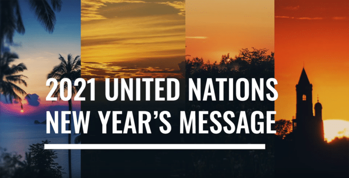 2021 United Nations New Year's Message