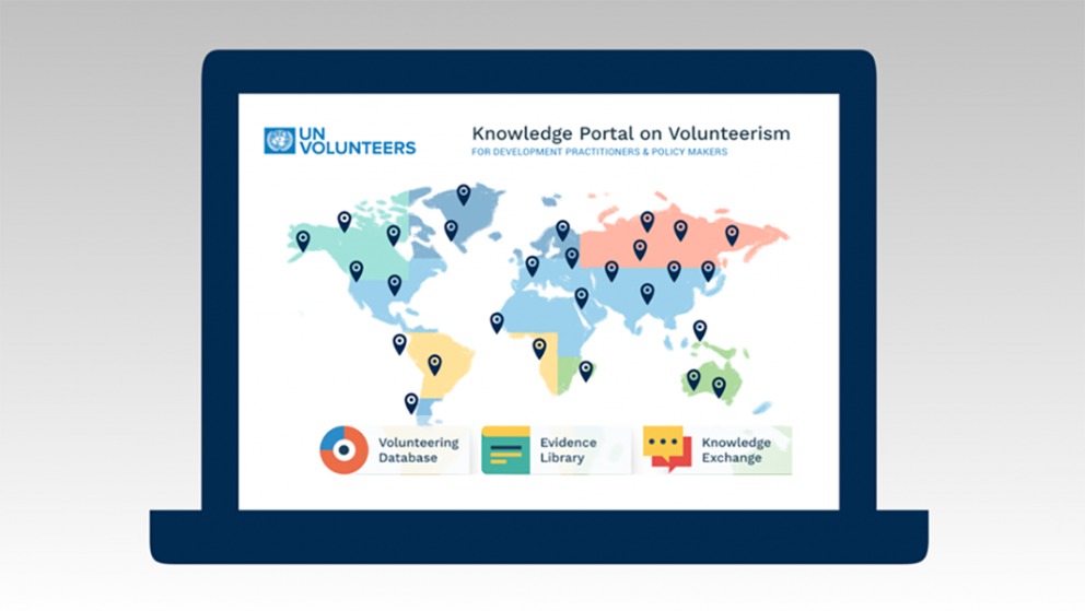UNV's Pioneer Knowledge Portal on Volunteerism