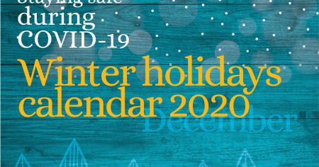 WHO Winter Holiday Calendar 2020