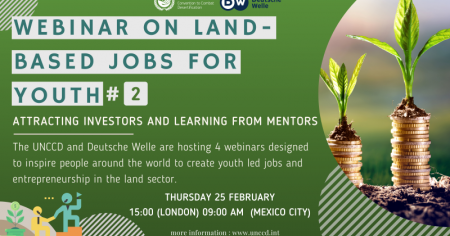 Webinar on land-based jobs for youth